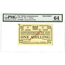 Government of Fiji, 1942, Specimen Note