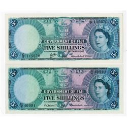 Government of Fiji, 1961-1962, Issued Pair