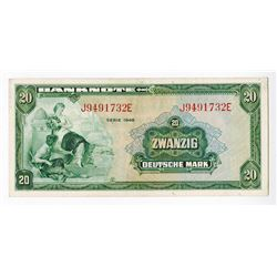 Germany, 1948 First Issue banknote.