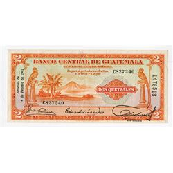 Banco Central de Guatemala, 1942, Issued Note