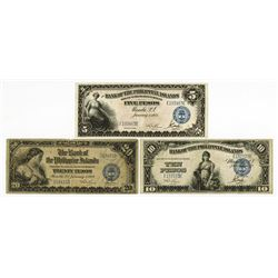 Bank of the Philippine Islands, 1928-1933, Issued Banknote Trio