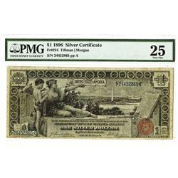 U.S. Silver Certificate, $1 1896, Fr#224, Tillman | Morgan Signatures.