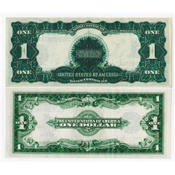 U.S. Silver Certificate Pair, Series of 1899 & 1923.