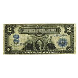 U.S. Silver Certificate, $2 1899, Fr#253, Napier | McClung Signatures.