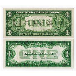 U.S. Silver Certificate & Hawaii Pair.