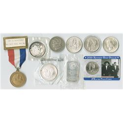 Silver Dollar, Bullion and Miscellaneous Coin Assortment.