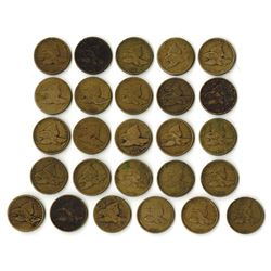 A Useful Assortment of Flying Eagle Cents.