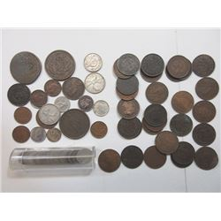 Canada and Nova Scotia Coin Assortment 1861 and Later.