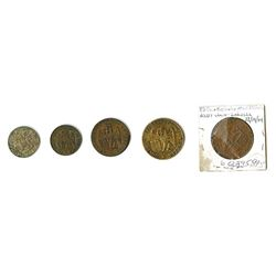 Venice: Revolutionary Issues, 1848-1849, Quintet of Coins