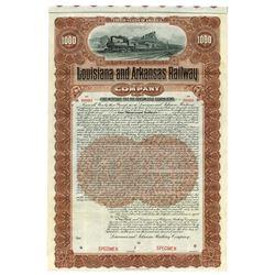 Louisiana & Arkansas Railway Co., 1902 Specimen Bond