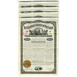 Pennsylvania, Slatington and New England Rail Road Co., 1882 Issued Bond Group