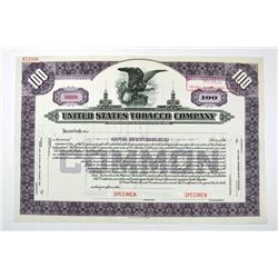 United States Tobacco Co., ca.1930's Specimen Stock Certificate