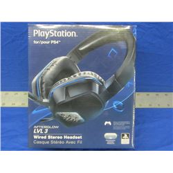 New wired headset ps4