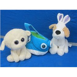 3 New stuffed animals