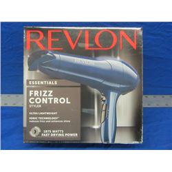 New Revlon hair dryer