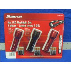 New Snap-On led flashlight set