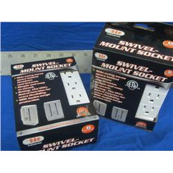New swivel mount socket