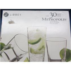 New 30 piece glass set