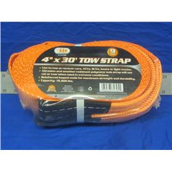 """New 4"""" tow strap 18,000lbs"""