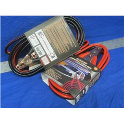 New booster cables 2 sets12ft