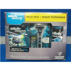 New Gillette mach 3 value pack