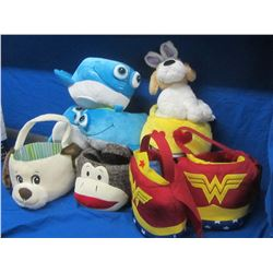 New childrens baskets/1 plush dog