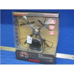 New 2.4ghz quadrocopter/Hdcam