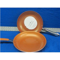 New Copper Chef fry pans