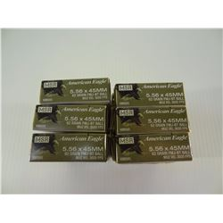 120 ROUNDS AE 5.56X45MM 62 GRAIN FMJ