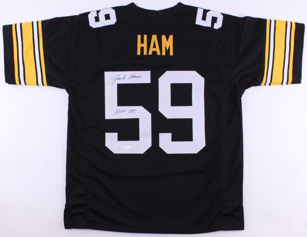 5d278231e3e Image 1   Jack Ham Signed Steelers Jersey Inscribed