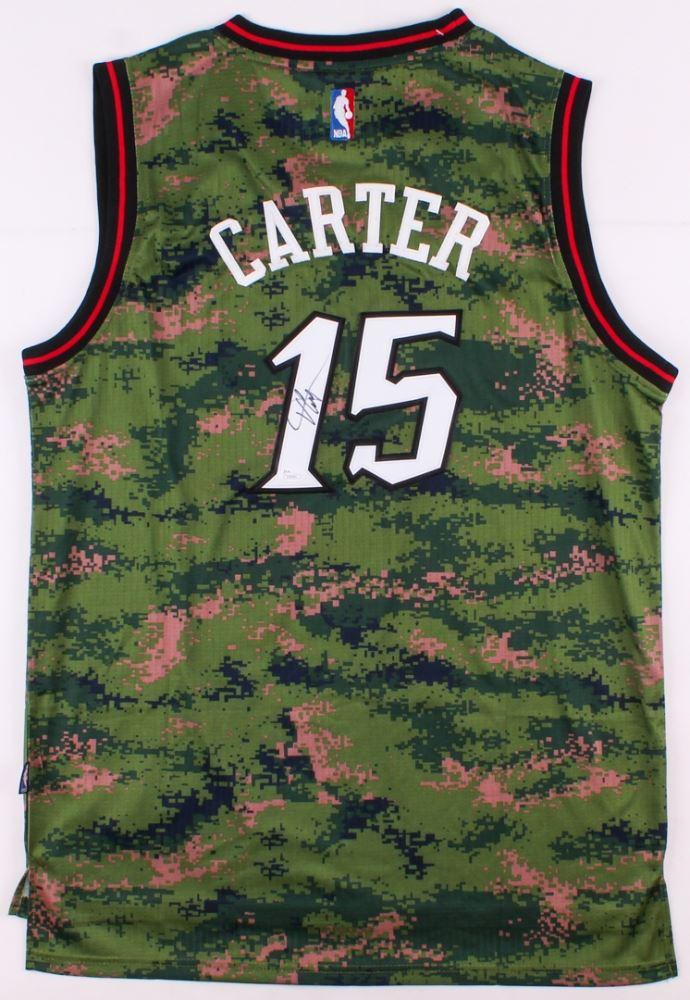 the best attitude b9826 d4ebe Vince Carter Signed Raptors Jersey (JSA COA)
