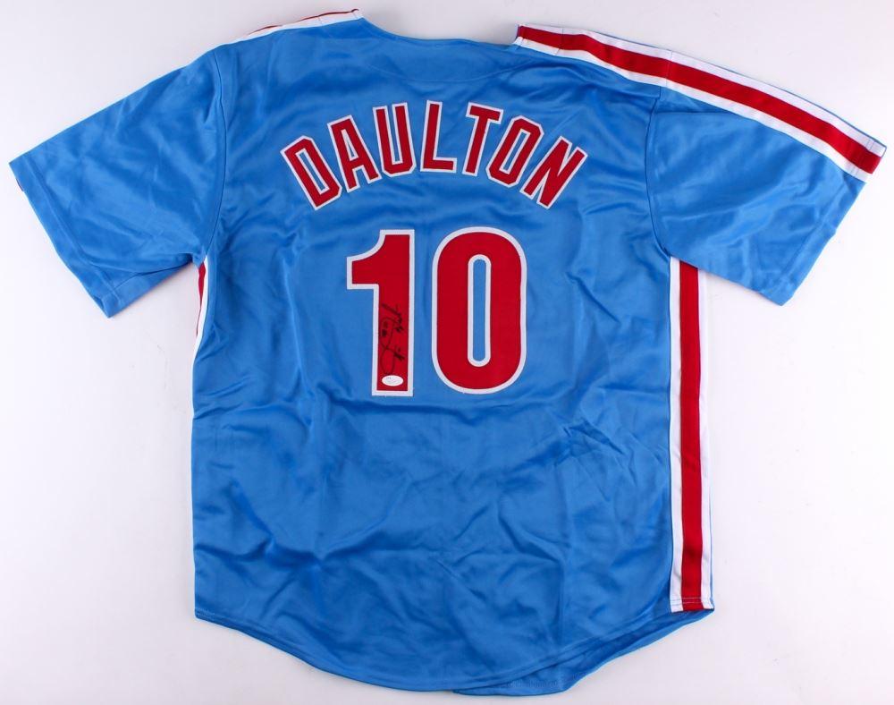 online store fa777 7cd15 Darren Daulton Signed Phillies Jersey (JSA COA)
