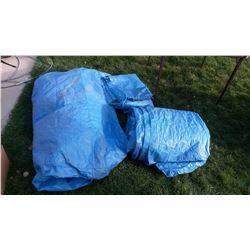 Blue tarps (3)