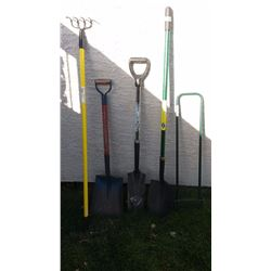 Lot Of Garden Tools (5)