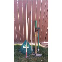 Lot Of Garden Tools (6)