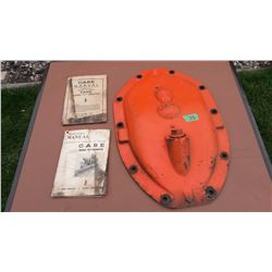 """Case Plate (14""""x22"""") W/ Case Manuals (2)"""