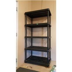 "Plastic Shelf (73""x24""x35"")"