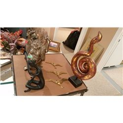 Lot Of Statues And figurines