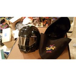 Modular Technology Snowmobile Helmet And Case