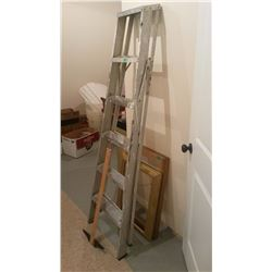 6' Ladder, Straight Edge, Picture Frames (2)