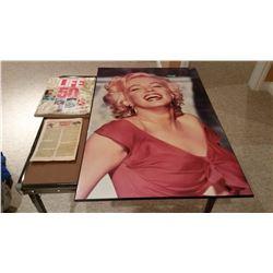 "Life Magazine Fall 1986, Comic Book, Marilyn Monroe 24""x36"""