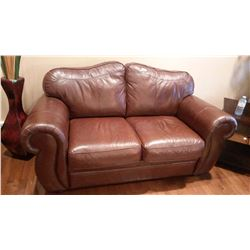 Palliser Leather Love Seat