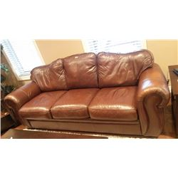Palliser Leather Couch