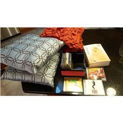 Speed Massager, Pillows, CDS