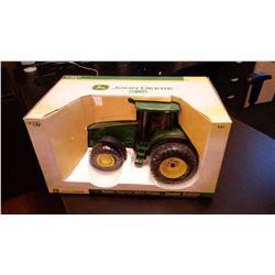 John Deere Die Cast Metal 8330 Tractor With Duals, 1/16 New In Box