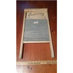 Economy Wash Board With Metal Front