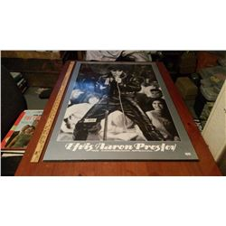 """Elvis Aaron Presley '68 Comeback Special Picture On Wood (24""""x36"""")"""