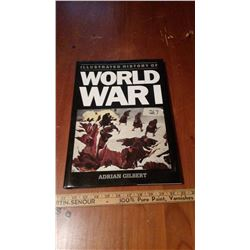 Illustrated History Of World War 1 Book, 1988
