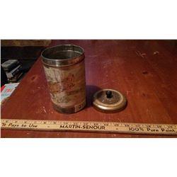 Early 1920's Metal Coffee Tin, Wood's Canadian