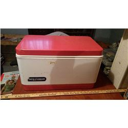 Vintage Metal Porta Cooler